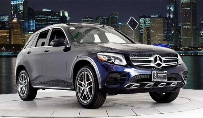 Certified Pre-Owned 2019 GLC 300 4MATIC<sup>®</sup> SUV