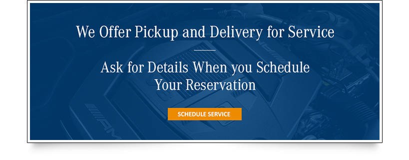Pick up and Delivery Service Banner