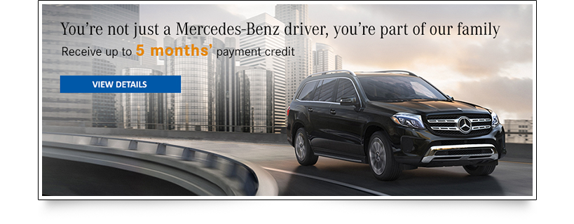 5 Month Payment Credit Banner