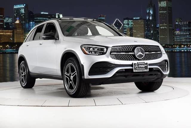 Certified Pre-Owned 2020 GLC 300 4MATIC® SUV Previous Loaner