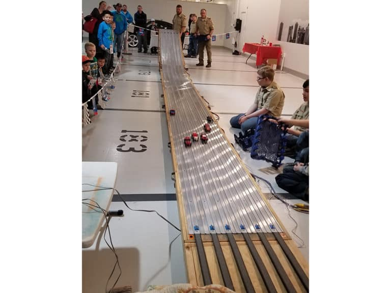Pinewood Derby Races