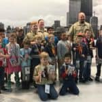 Cub Scouts Pack 525 at Pinewood Derby at Fletcher Jones Chicago Service Center