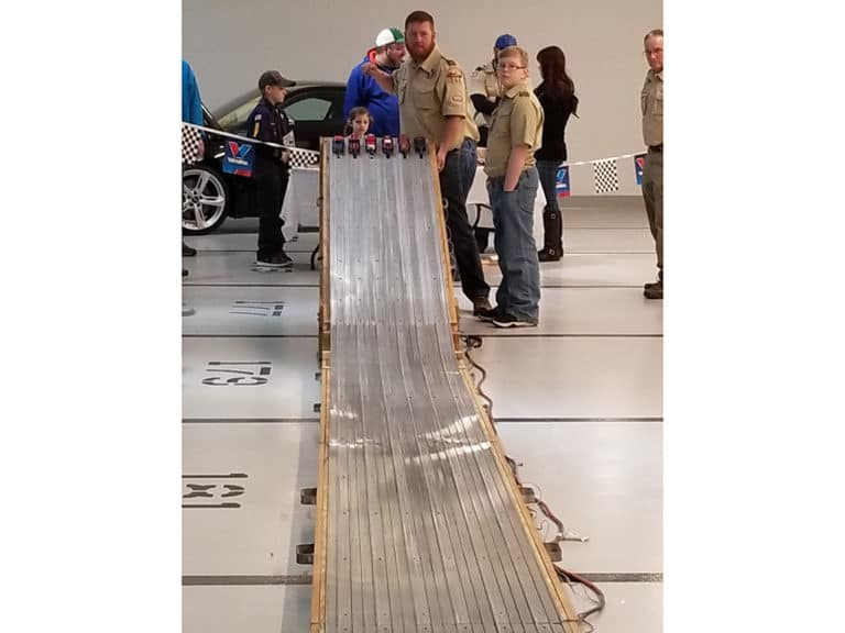 Pinewood Derby Races 2