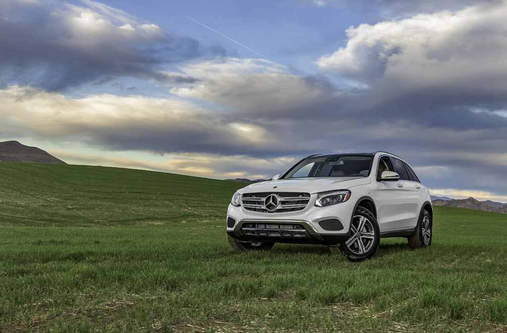 2018 GLC mercedes-benz green field