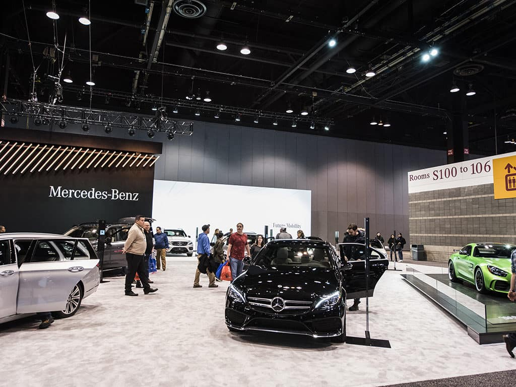 The Best Of The Chicago Auto Show MercedesBenz Of Chicago - Car show chicago today