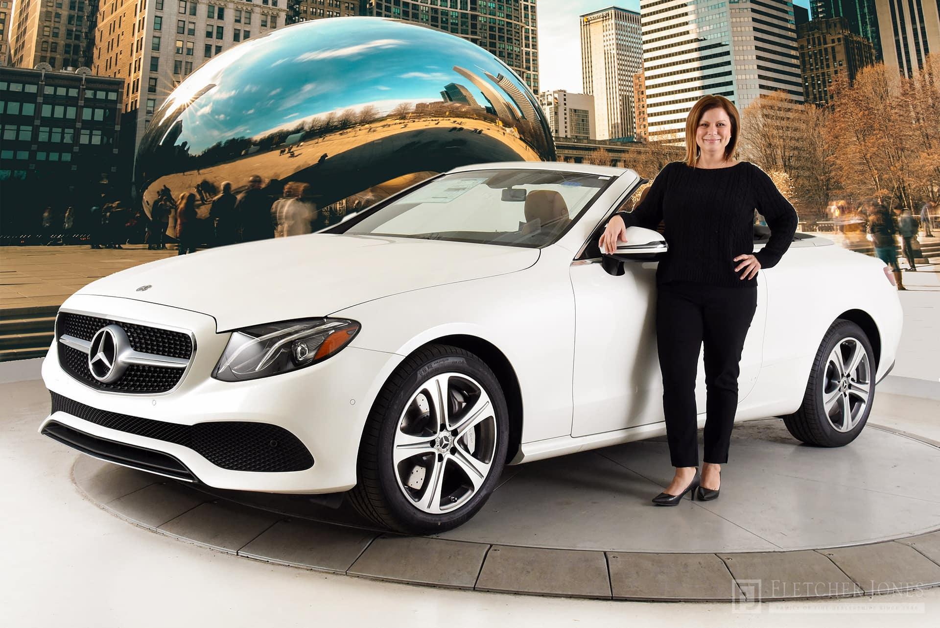 pictures cbs benz auto news show chicago mercedes
