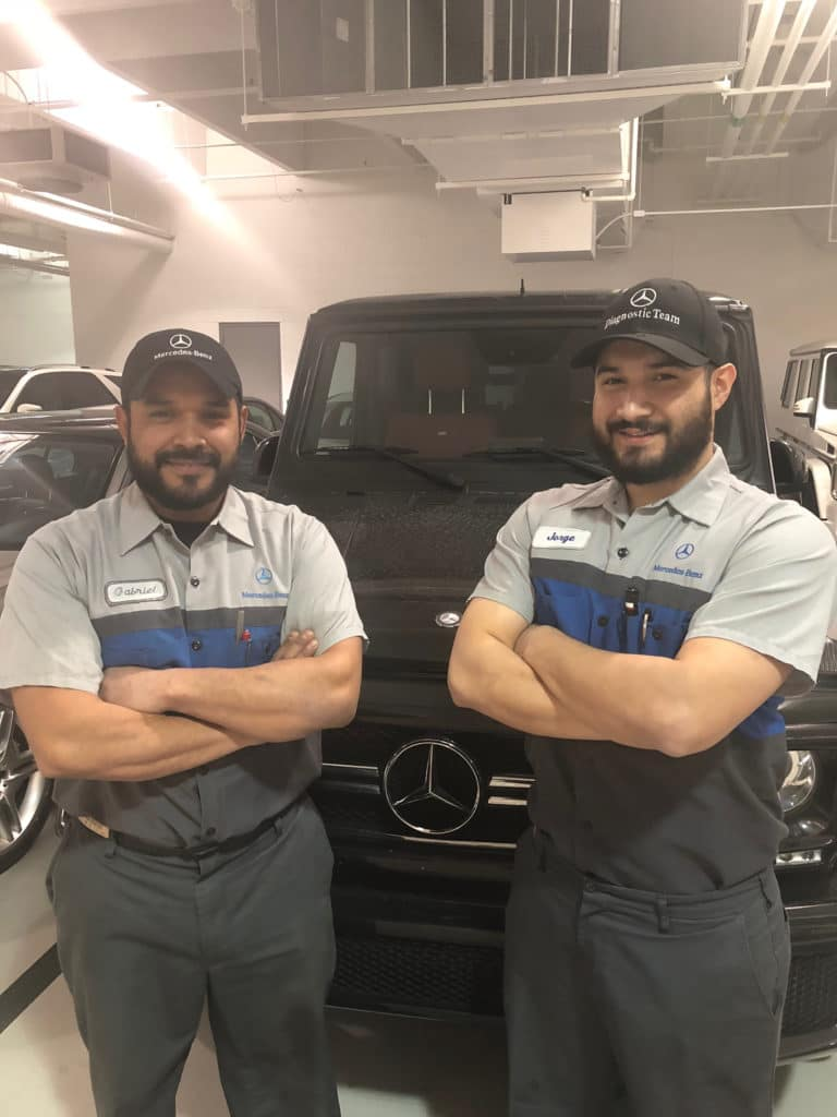 Mercedes-Benz of Chicago Technicians