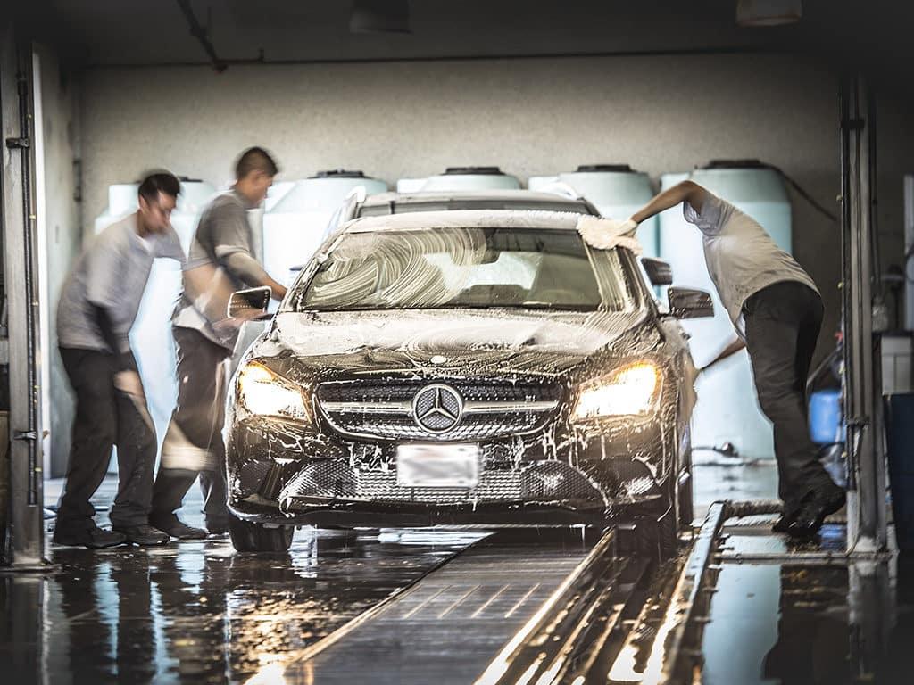Car Wash Mercedes-Benz Fletcher Jones