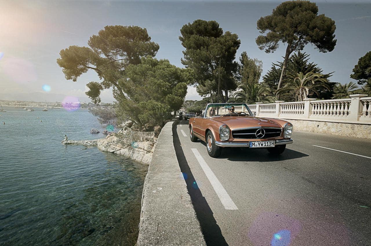 Vintage Mercedes-Benz Convertable