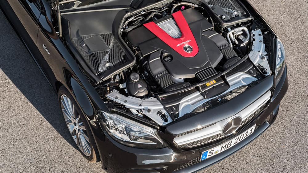 2019 Mercedes-AMG® C 43 Engine