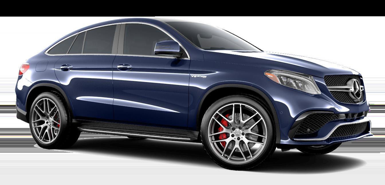 Blue GLE AMG SUV