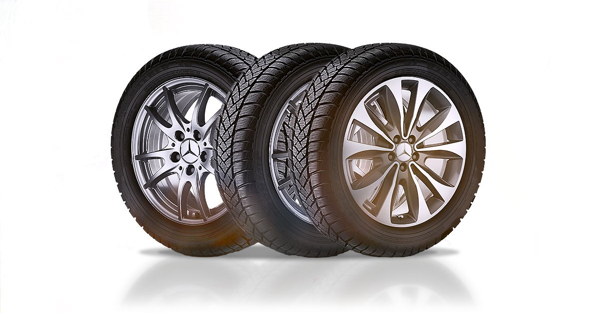 3 dusty tires