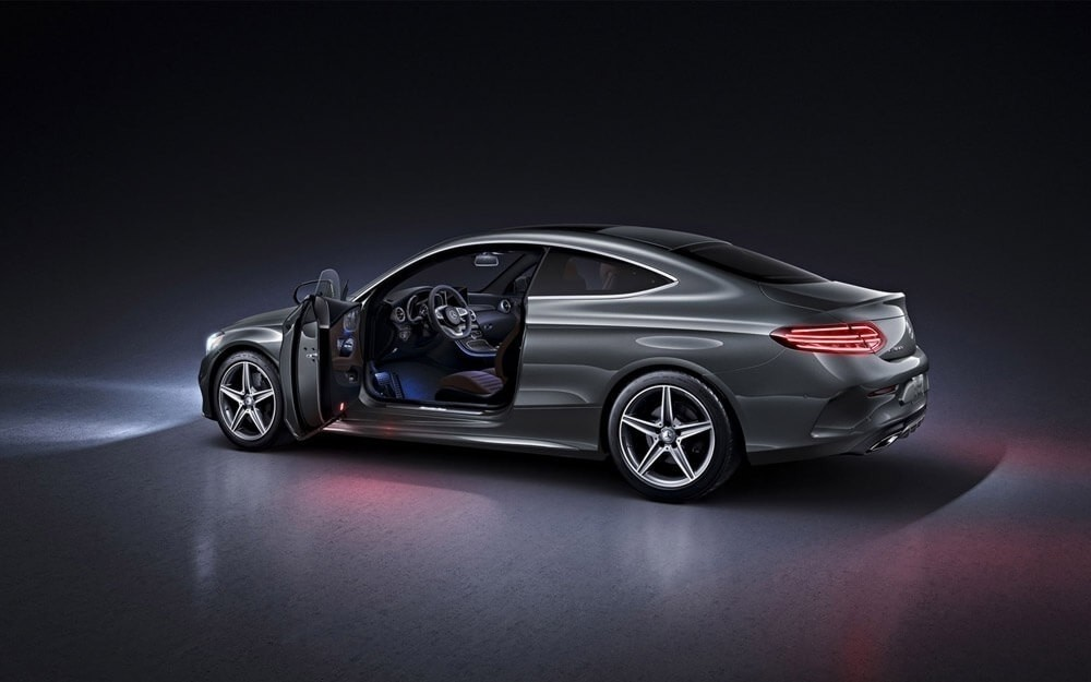 The c class a luxurious lineup of small sport vehicles for Mercedes benz dealers in ontario