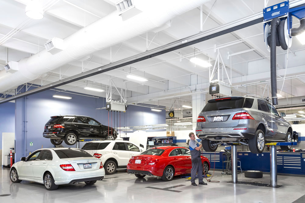 Enjoy the many benefits of auto service via a certified dealer for Ontario mercedes benz dealerships
