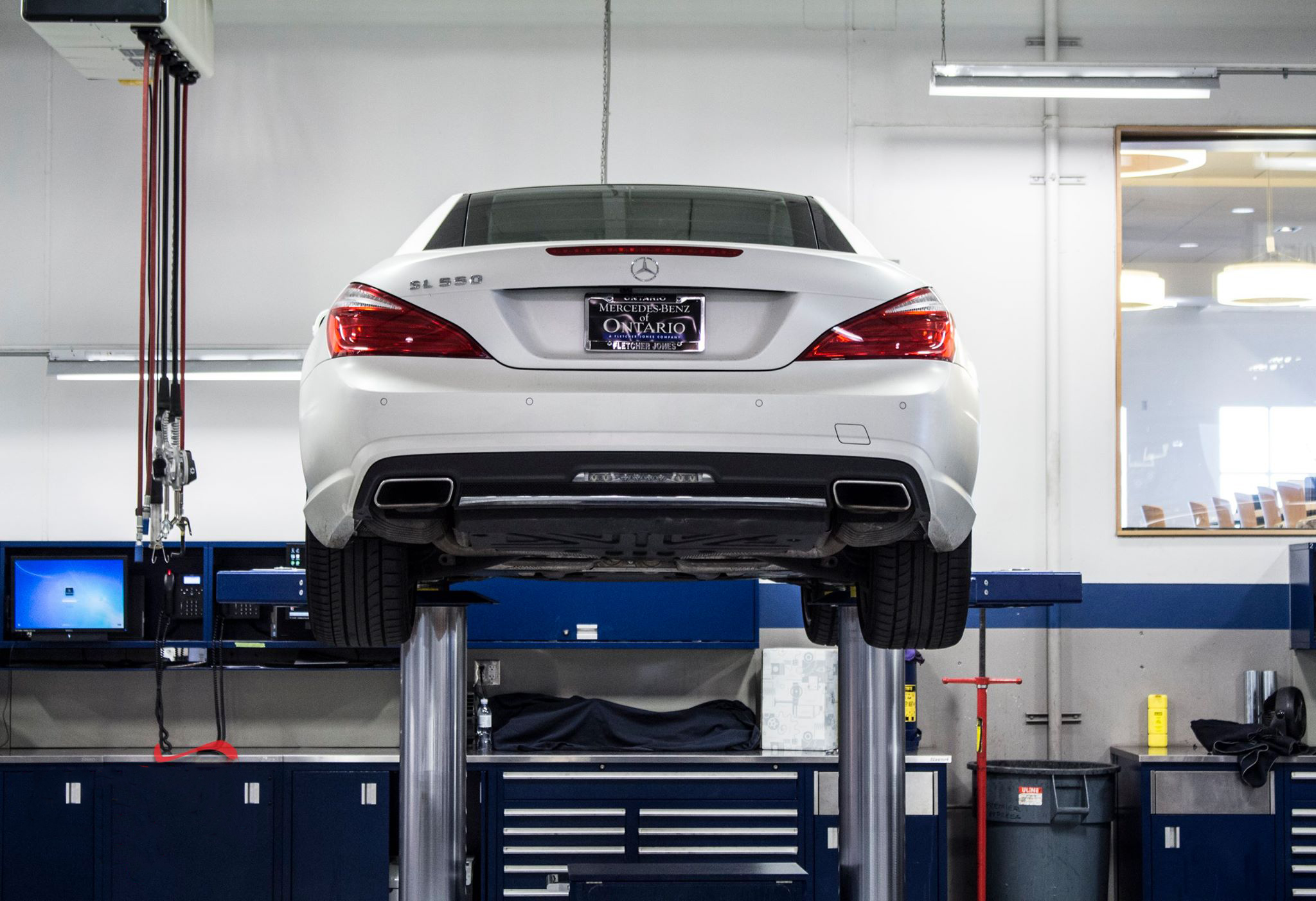 Service tip from mercedes benz of ontario mercedes benz for Ontario mercedes benz dealerships