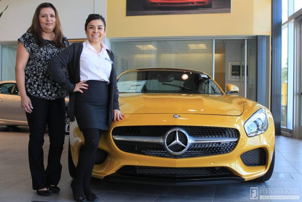 Fletcher jones international women s day mercedes benz for Mercedes benz dealers in ontario