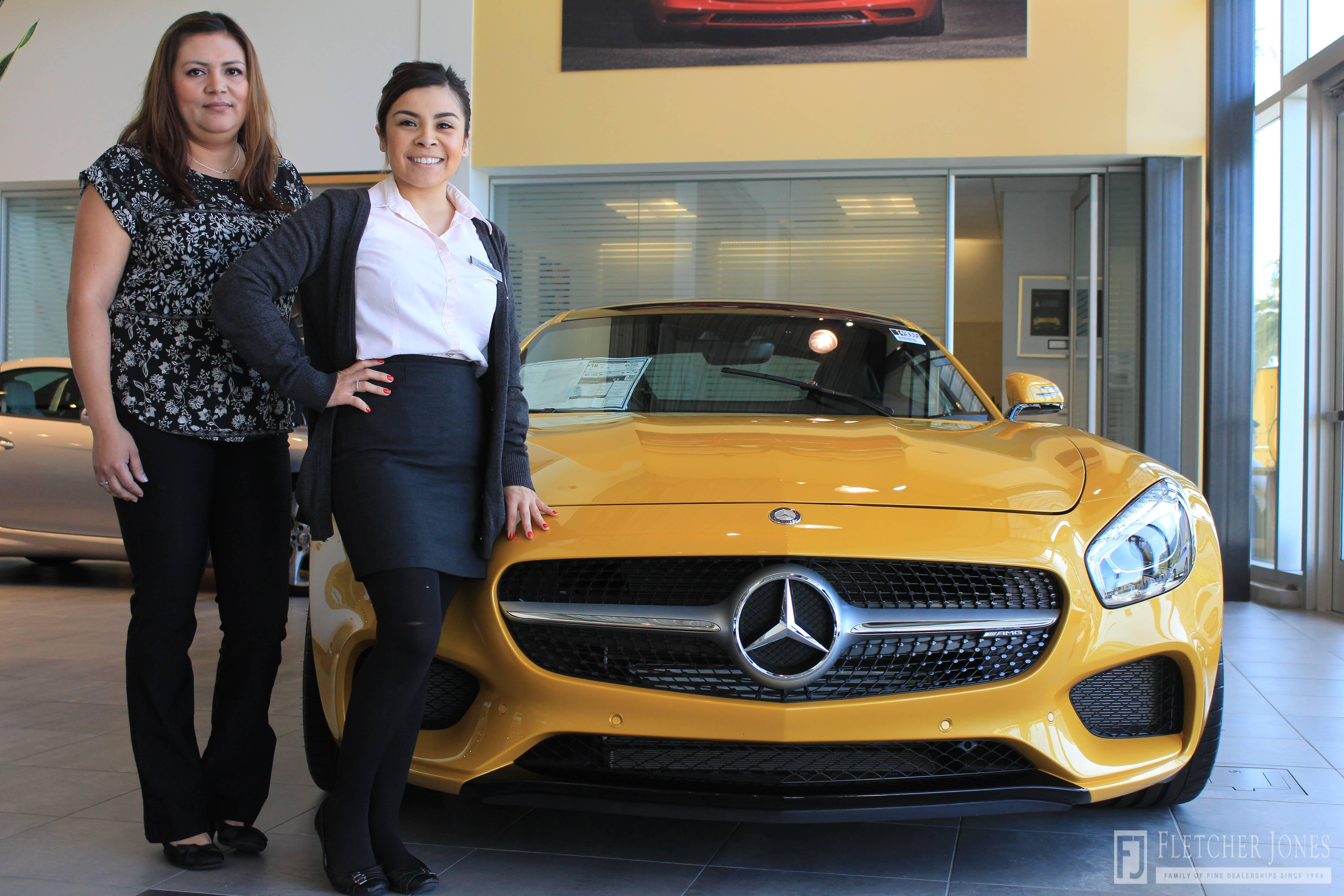 Fletcher jones international women s day mercedes benz for Mercedes benz ontario dealers