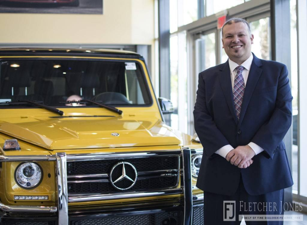 Meet mercedes benz of ontario s new general sales manager for Mercedes benz dealers in ontario