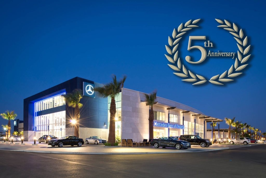 Mercedes benz of ontario 5th anniversary top 5 best for Mercedes benz of ontario ca