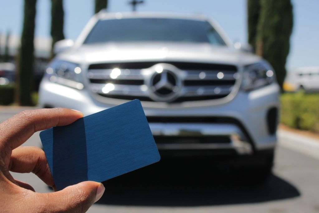 Credit Card Test Mercedes-Benz of Ontario Lease Return