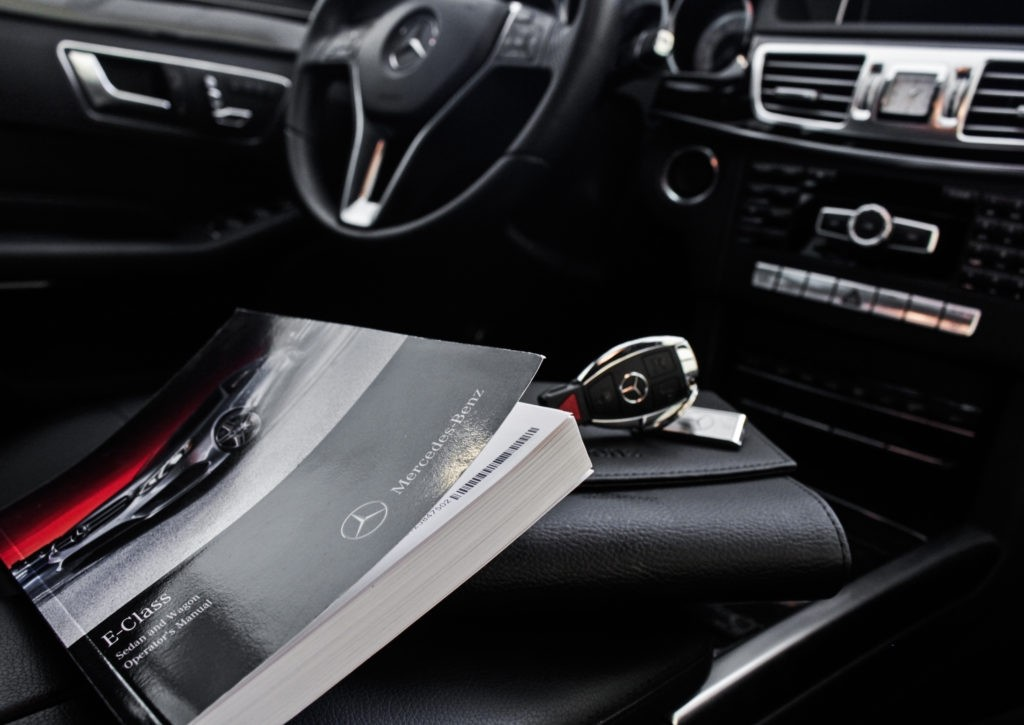 owners manual Mercedes-Benz of Ontario