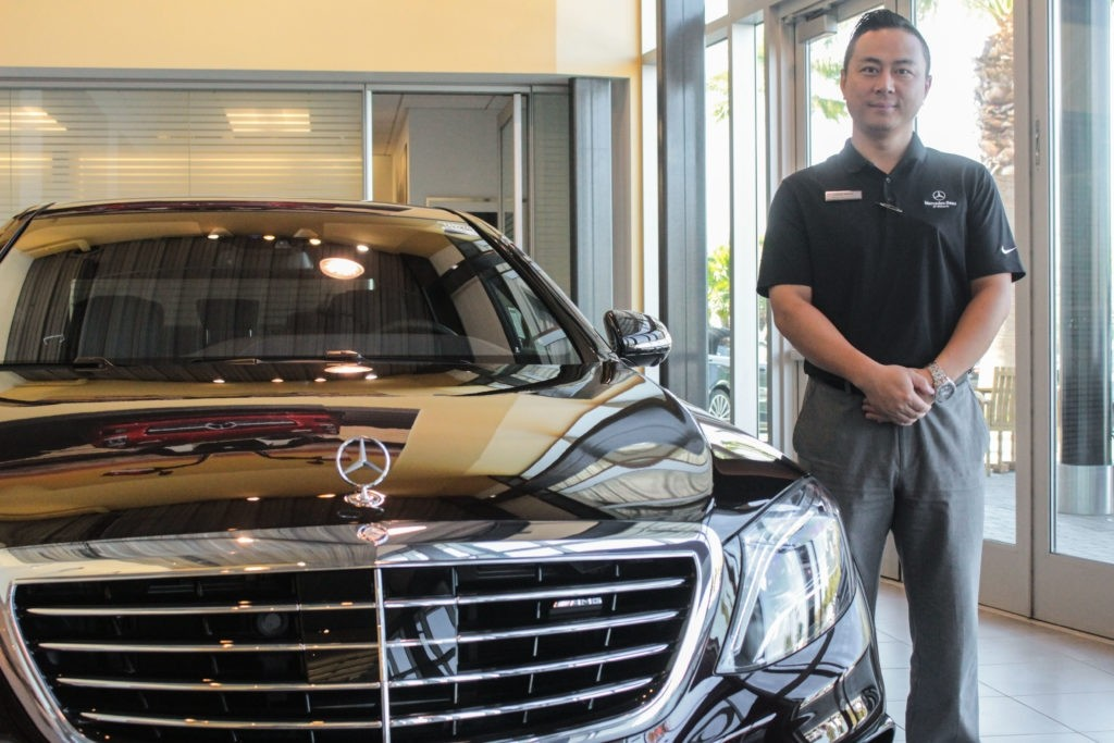 Salesman of the month louis meng mercedes benz of ontario for Mercedes benz ontario dealers