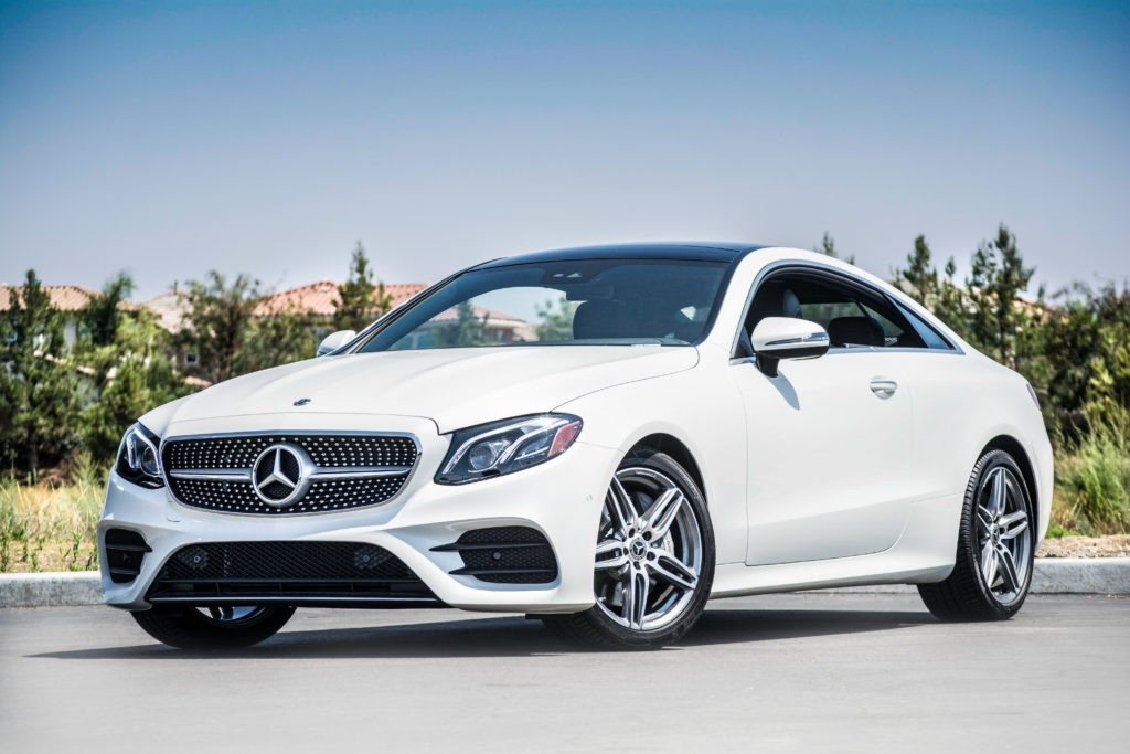 2018 Mercedes Benz E Class Coupe Has Arrived At Mercedes