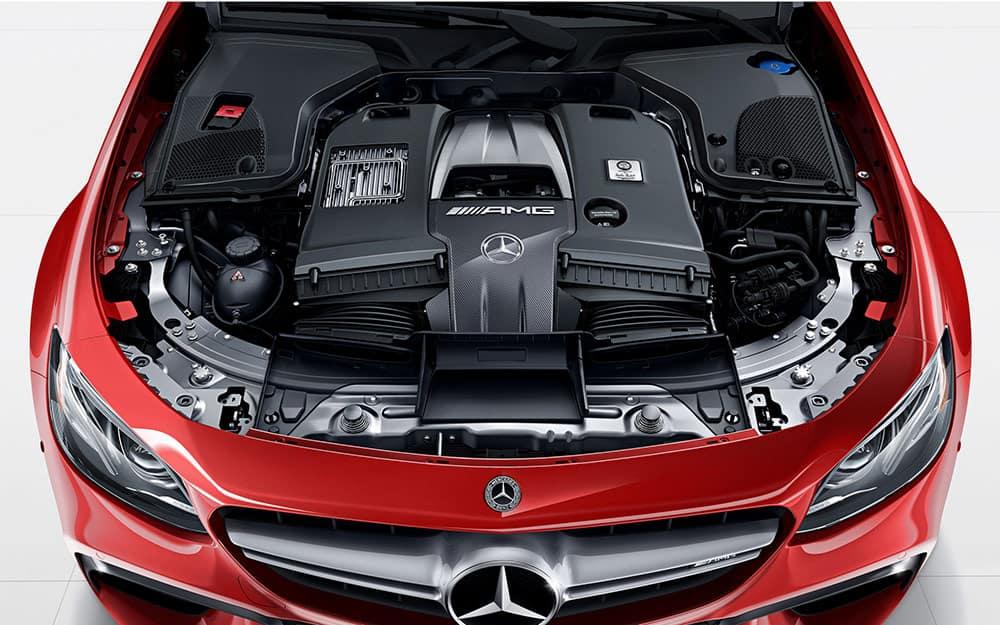 2018 E63 S Engine