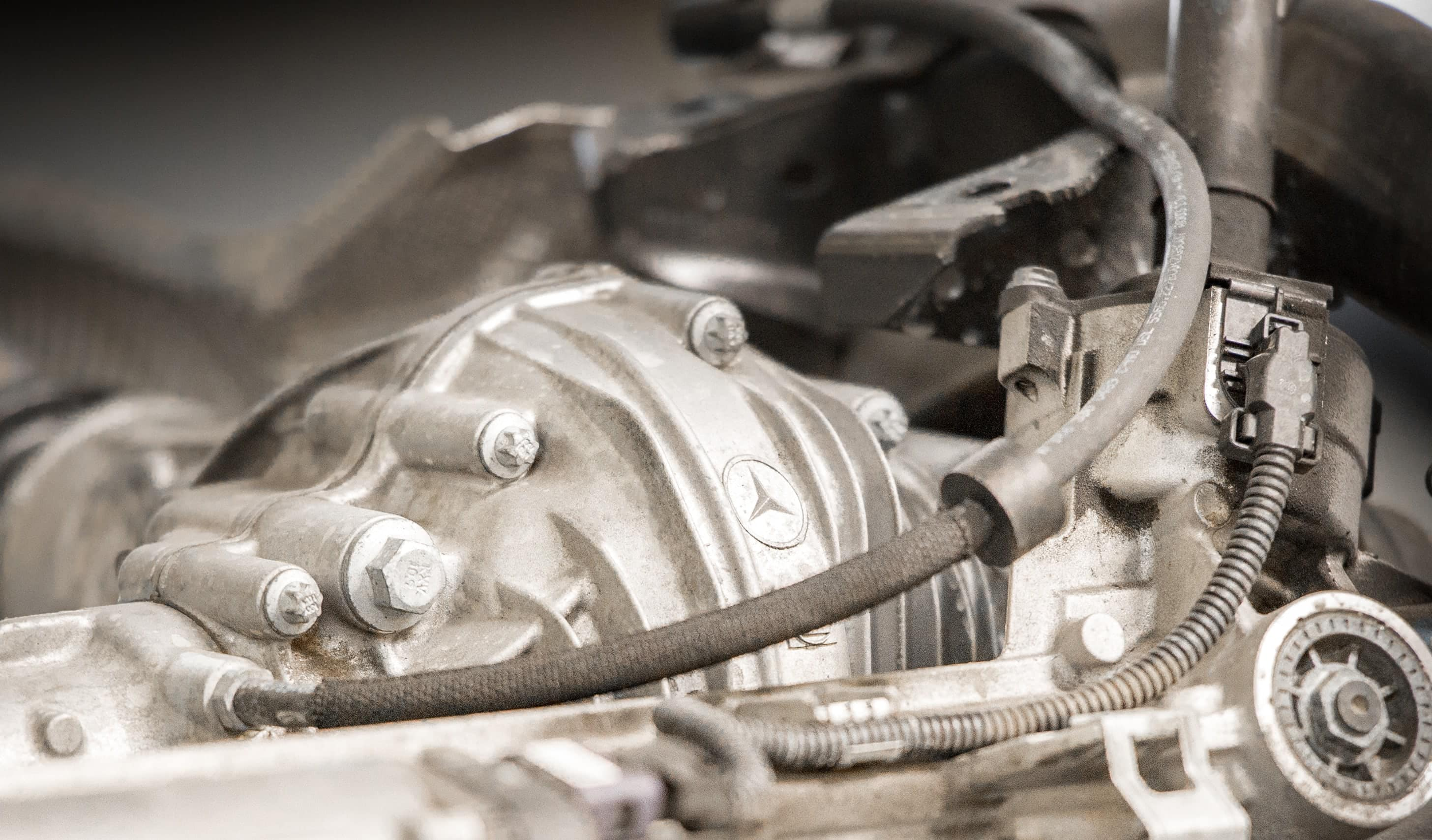 Mercedes Engine