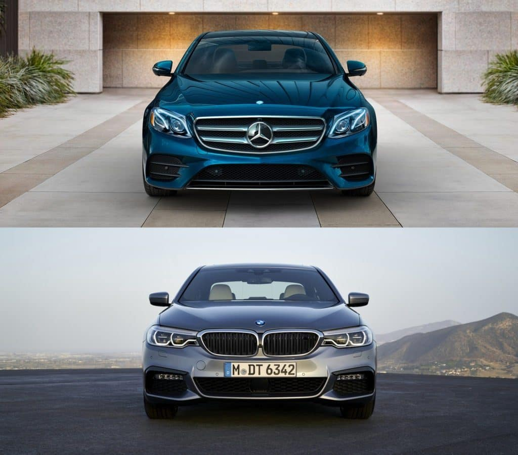 2017 mercedes benz e class vs bmw 5 series for Bmw and mercedes benz
