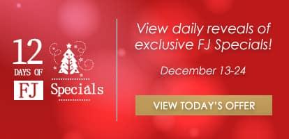 12 days of fj specials