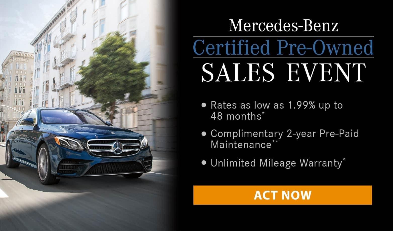 Mercedes-Benz CPO Banner
