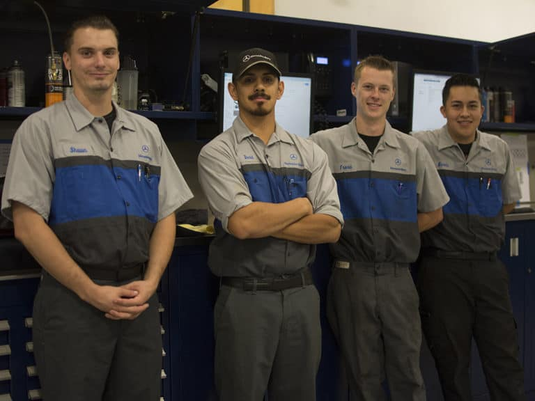 Mercedes-Benz of Ontario Service Technicians
