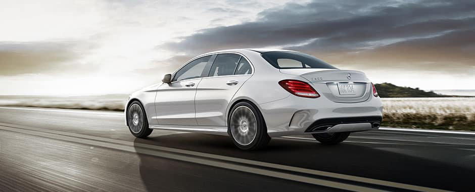 C 300 Driving On Road