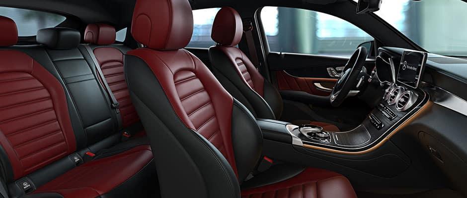 2018 GLC Coupe Interior