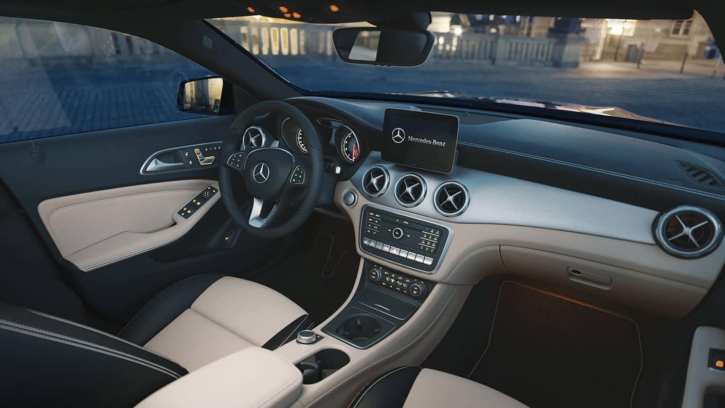 GLA SUV Interior
