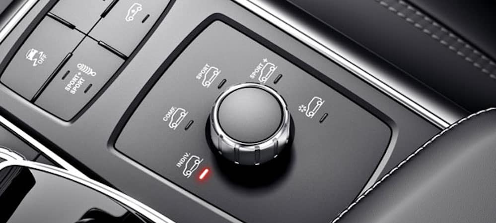 DYNAMIC SELECT knob in Mercedes-Benz GLE