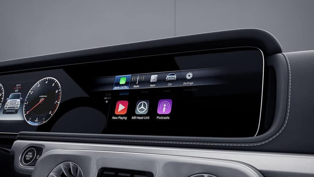 Mercedes-Benz G-Class Infotainment