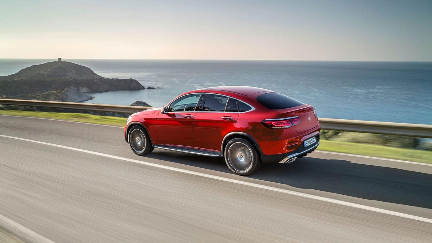 Take A Look Inside The 2020 Mercedes Benz Glc Coupe Mercedes Benz Of Ontario