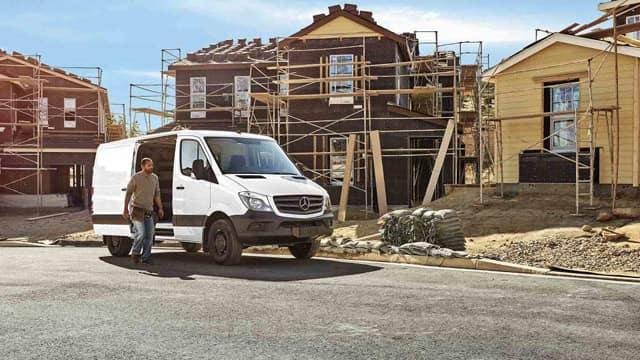 2017 Mercedes-Benz Sprinter Worker Van