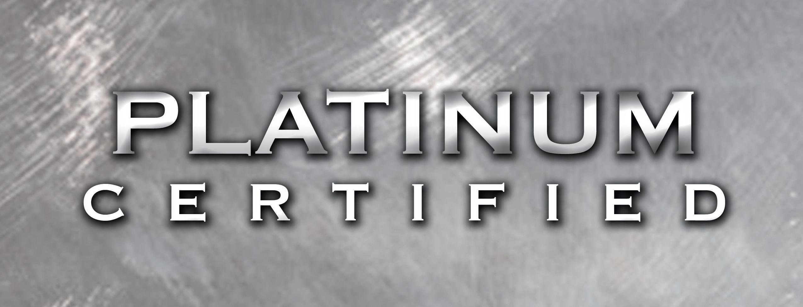 Platinum Certified Logo