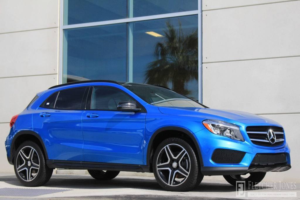 Blue 2017 Mercedes-Benz of Temecula GLA