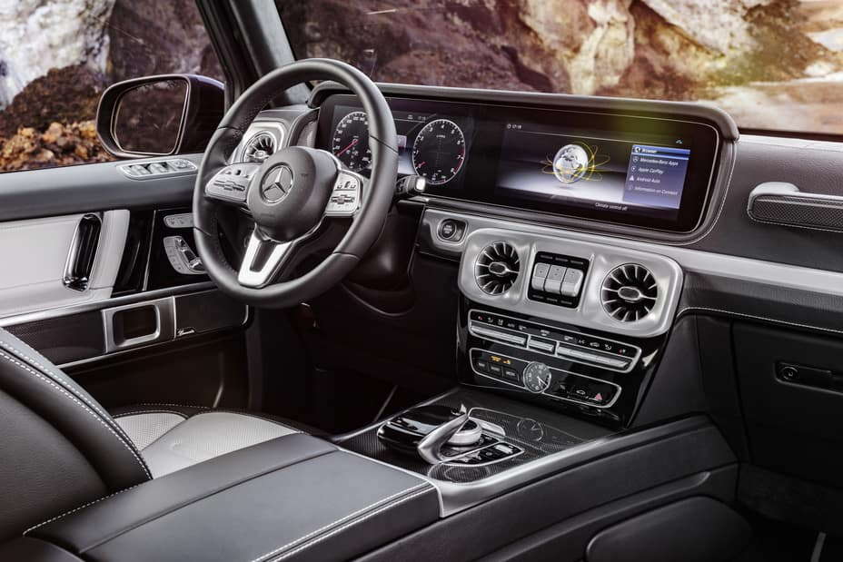 2019 G-Class Interior