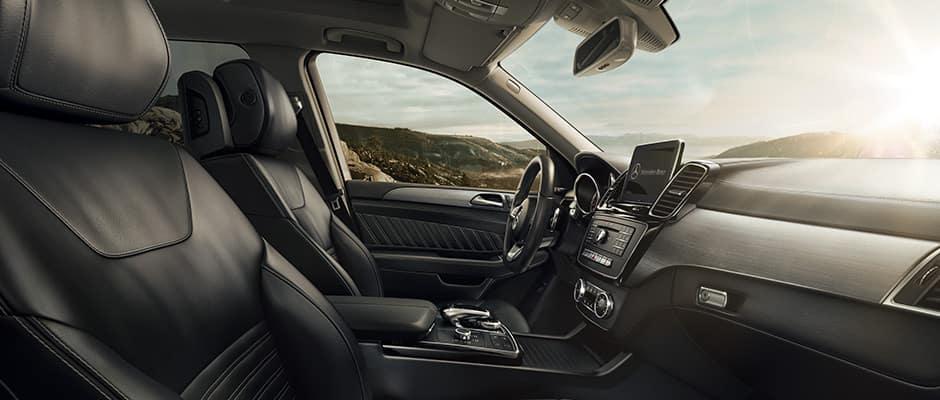 2018 GLE SUV Interior