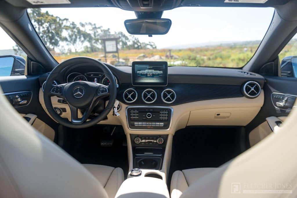 2018 CLA 250 Interior