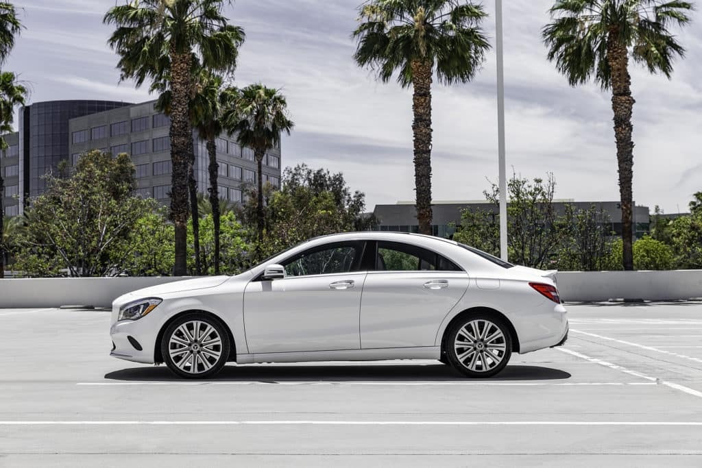 2018 Mercedes-Benz CLA white