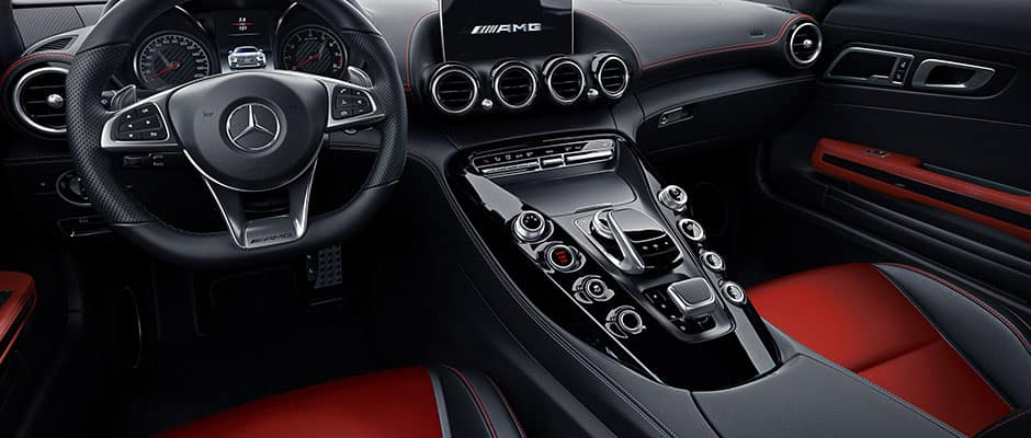 What's Inside the 2018 AMG® GT Interior? | Mercedes-Benz of