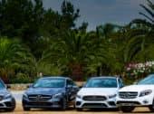 Appreciate the Beauty of the Santa Fe Summer in a Mercedes Benz