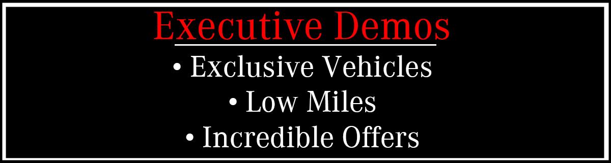 Executive Demos Banner