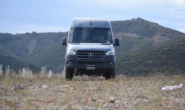 Mercedes Benz Sprinter Van